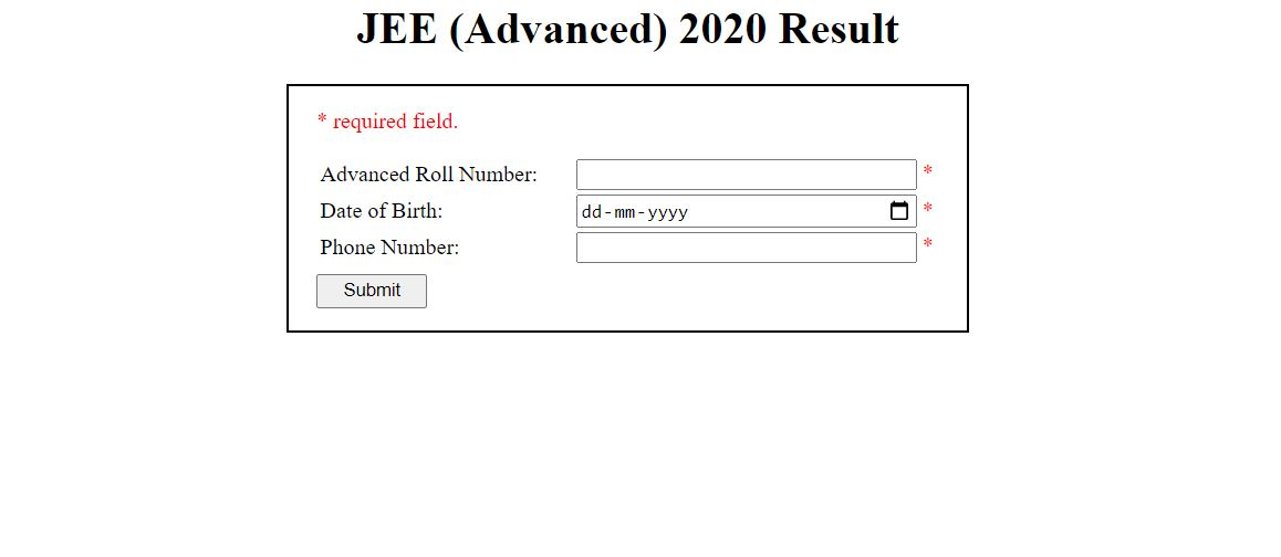 JEE Advanced 2020: Check Result, Counselling, Cut off, Topper and More