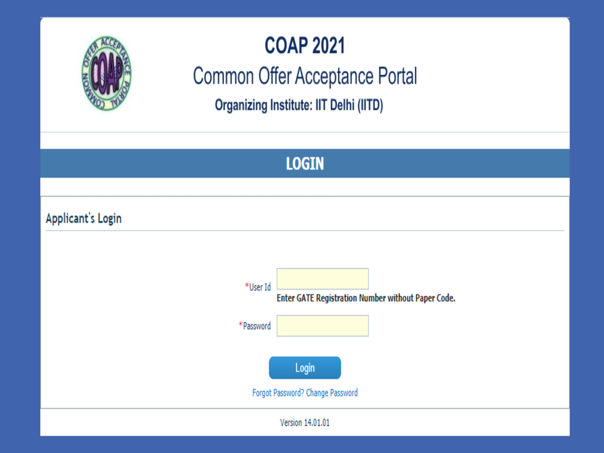 Results for GATE COAP Round 3 Seat Allotment